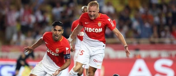 Falcao scored twice as Monaco beat Marseille 6-1.
