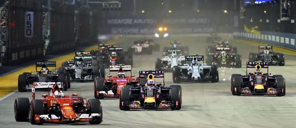 Fernando Alonso can get among the points in Singapore.