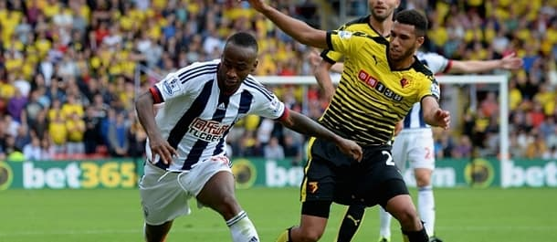 Watford play at West Brom on Saturday