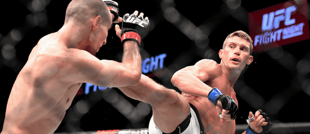 Stephen Thompson shows his karate in the UFC