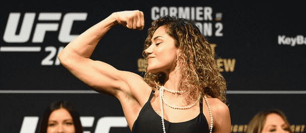 Pearl Gonzalez ready to battle at UFC 216