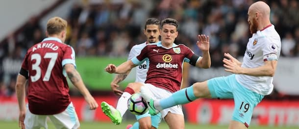 Burnley and West Ham meet in the battle of Claret and Blues on Saturday.