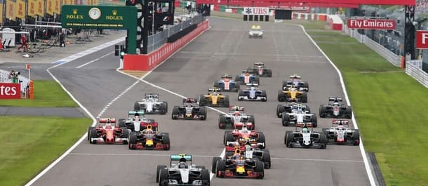 The Japanese Grand Prix takes centre stage on Sunday morning.