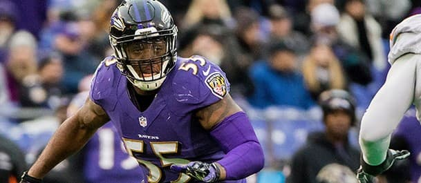 Suggs will aim to add to the Bears' woes