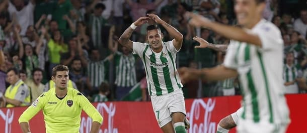 Real Betis beat Levante 4-0 in their last home match.