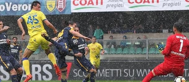 Chievo are 7th in Serie A after last week's 3-2 win over Verona.