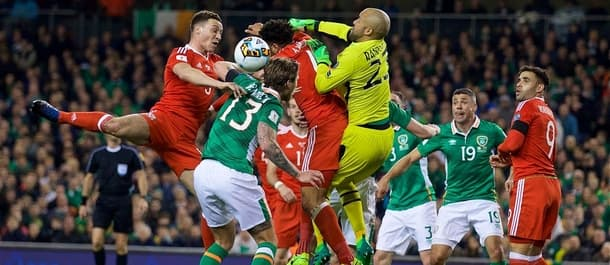 Only one of Wales and Ireland can reach the World Cup.