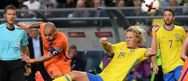 Netherlands need a huge win over Sweden to qualify for Russia 2018.