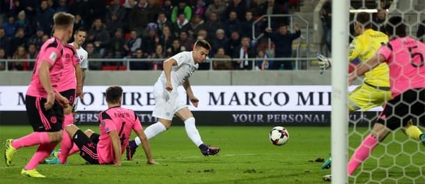 Slovakia beat Scotland 3-0 in the reverse qualifying fixture.