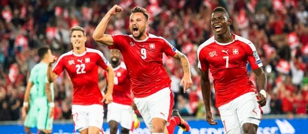 Switzerland have a perfect 8 from 8 record in World Cup qualifying.