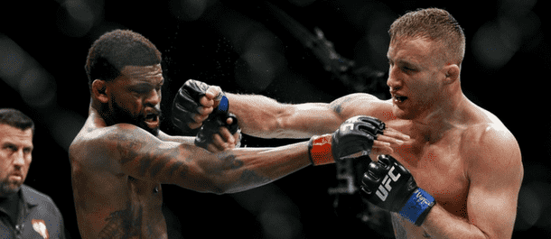 Justin Gaethje and Michael Johnson go to war at UFC on FOX 25