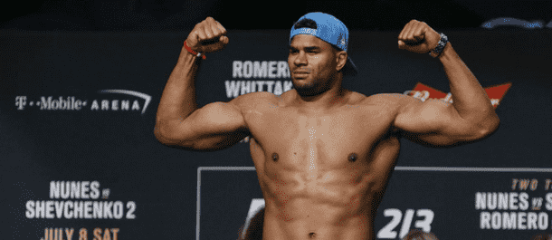 Alistair Overeem at UFC 213