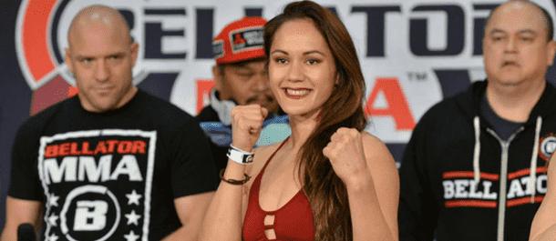 Ilima-Lei Macfarlane Bellator weigh ins