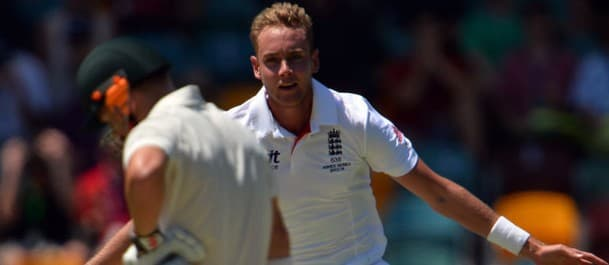 Broad will look to continue his hold over the Aussies