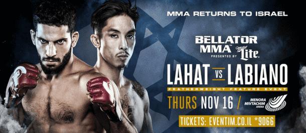 Bellator 188 - Jeremiah Labiano vs. Noad Lahat