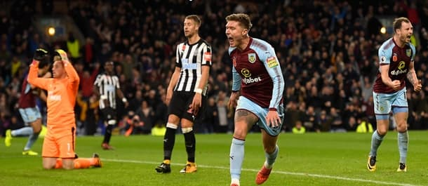Burnley are 7th in the Premier League after beating Newcastle 1-0.