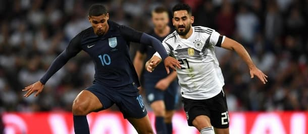 Ruben Loftus-Cheek was England's man of the match against Germany.