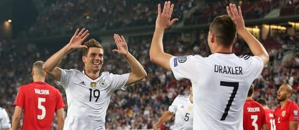 Germany have won the last seven internationals in a row.
