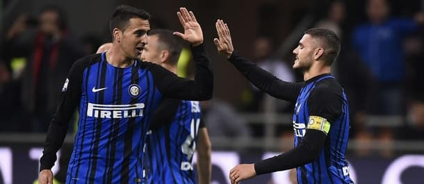 Inter Milan are only two points off the top of Serie A.