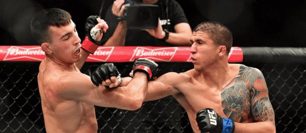 Albert Morales trades punches