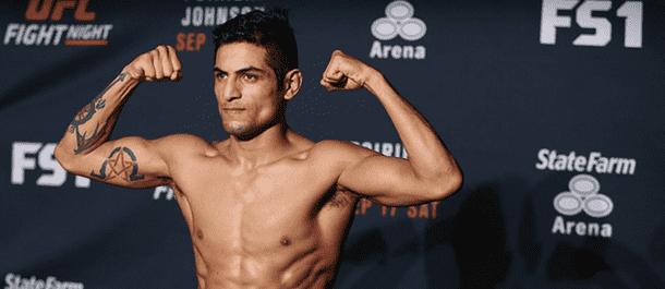 Gabriel Benitez weigh in - UFC Fight Night