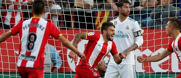 Girona claimed a famous win over Real Madrid in October.