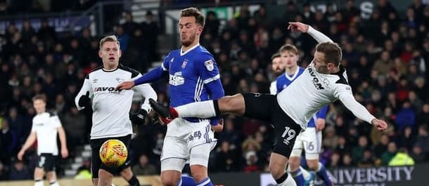 Ipswich won 1-0 at Derby in midweek.