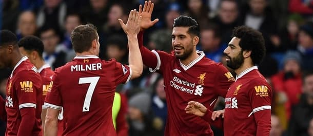 Liverpool won their last away match 5-1 at Brighton.