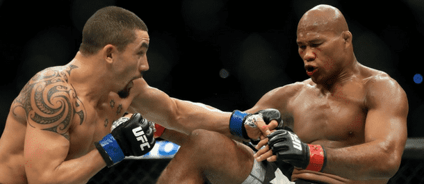 Ronaldo Souza and Robert Whittaker