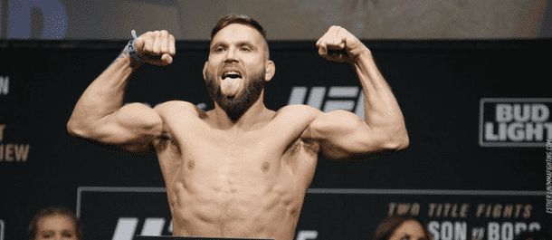 Jeremy Stephens weighs in for UFC 215