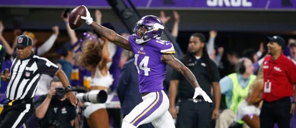 Diggs' scored an incredible touchdown
