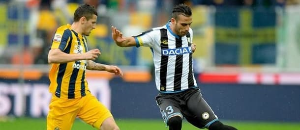 Udinese are unbeaten in six Serie A games.