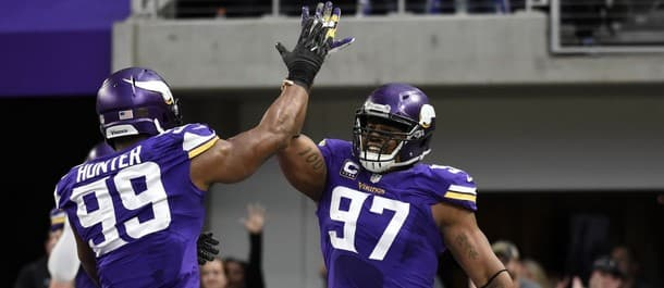The Vikings' defense has been dominant