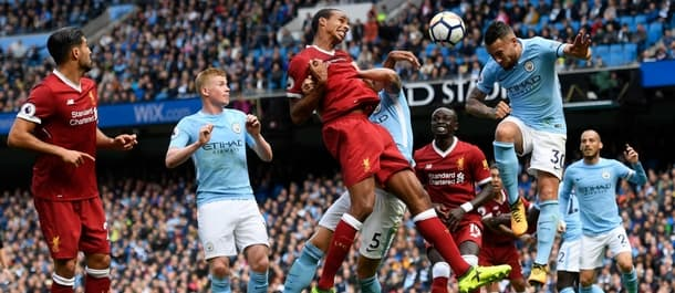 Manchester City beat Liverpool 5-0 earlier this season in the Premier League.