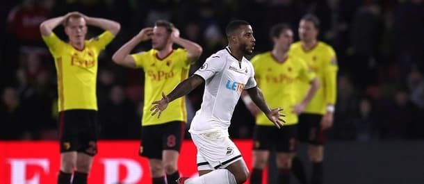 Swansea snatched a last-gasp win at Watford over Christmas.