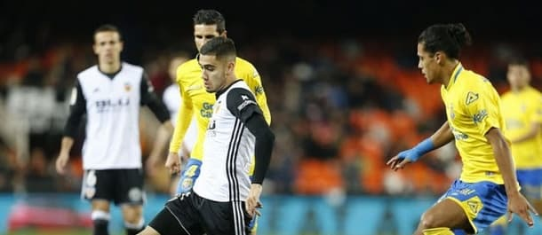 Valencia beat Las Palmas 4-0 in the Copa Del Rey just two weeks ago.