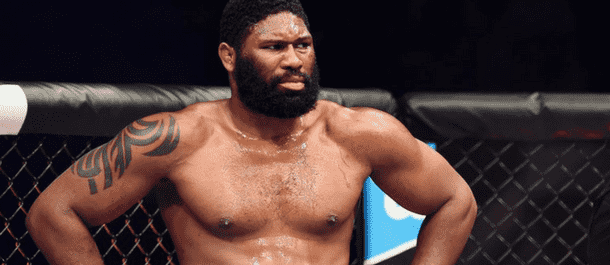 Curtis Blaydes in the UFC