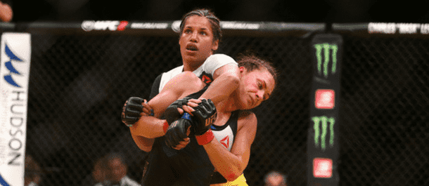 Cat ZIngano battles Julianna Pena at UFC 200