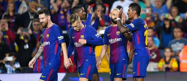 Barcelona beat Eibar 6-1 in La Liga in September.