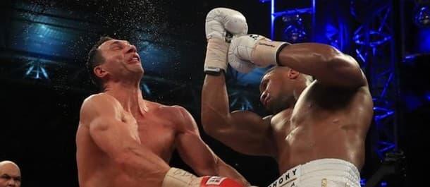 Anthony Joshua recovered from a knockdown to beat Vladimir Klitschko.