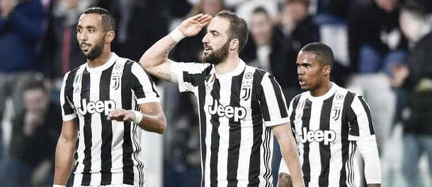 Juventus are two points clear at the top of Serie A.