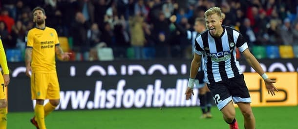 Udinese are overpriced to beat Sassuolo in Serie A.