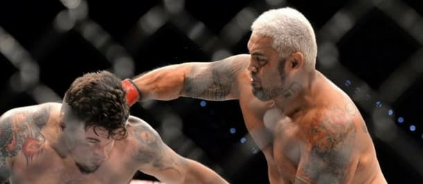 Mark Hunt smashes Frank Mir