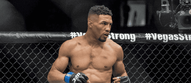Kevin Lee prepares for a UFC fight