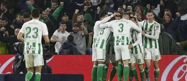 Real Betis have won three games in a row.
