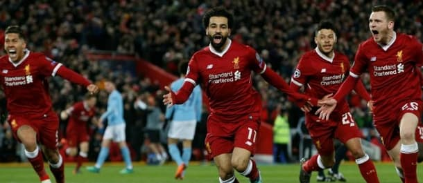 Liverpool won the Champions League first leg 3-0 against Manchester City.