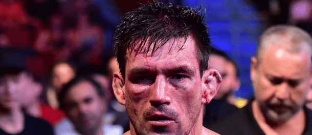 Demian Maia exits the UFC's Octagon