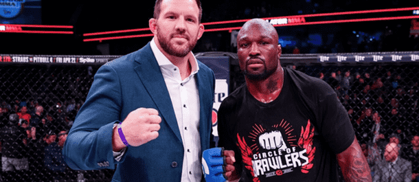 Ryan Bader and King Mo meet inside the Bellator cage