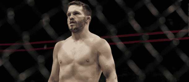 Jake Ellenberger inside the UFC's Octagon