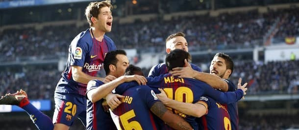 Barcelona beat Real Madrid 3-0 earlier this season.